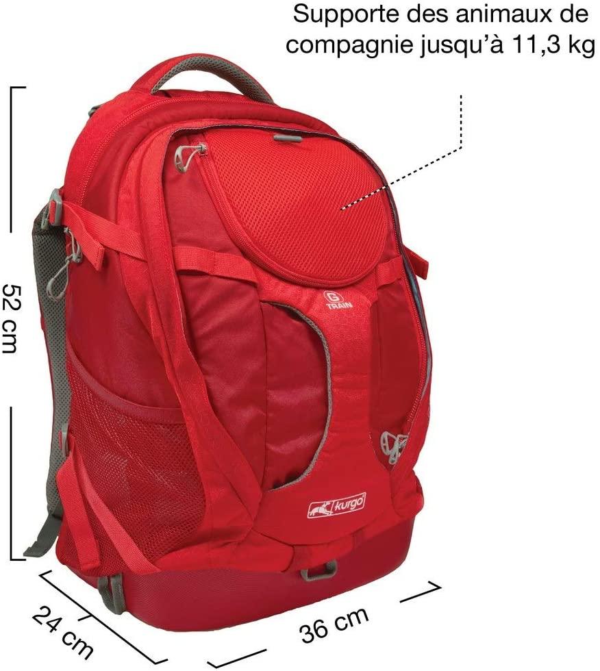 taille du sac de transport kurgo g train