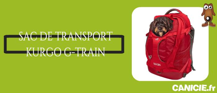 Le sac à dos KURGO G-train : Le sac de transport idéal ?